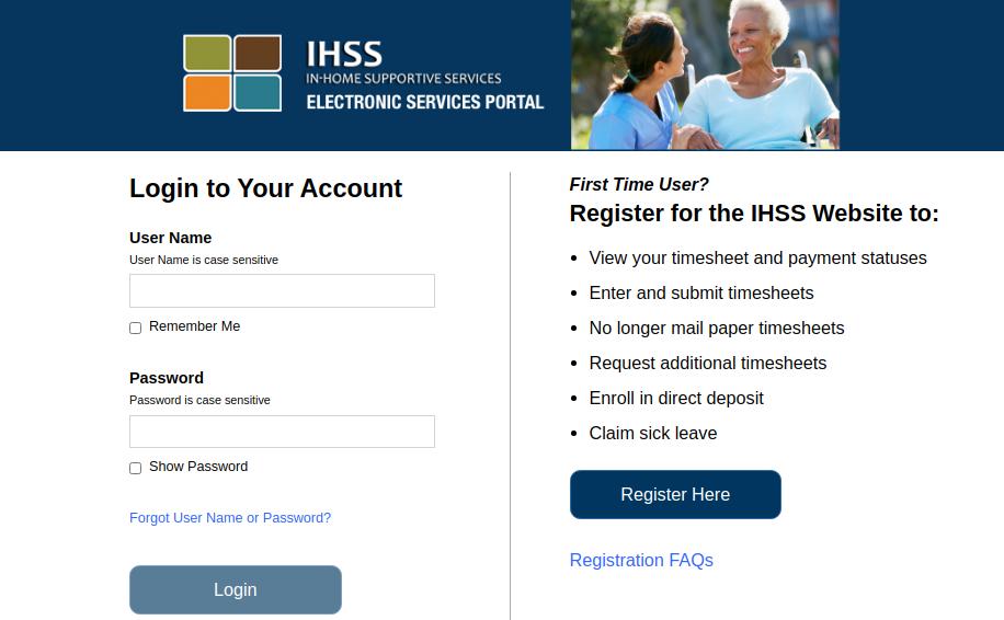 ihss website logo