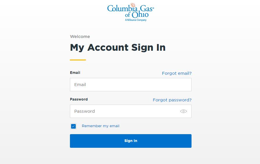 Columbia Gas Login
