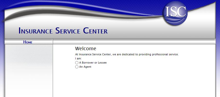 Insurance Service Center Login