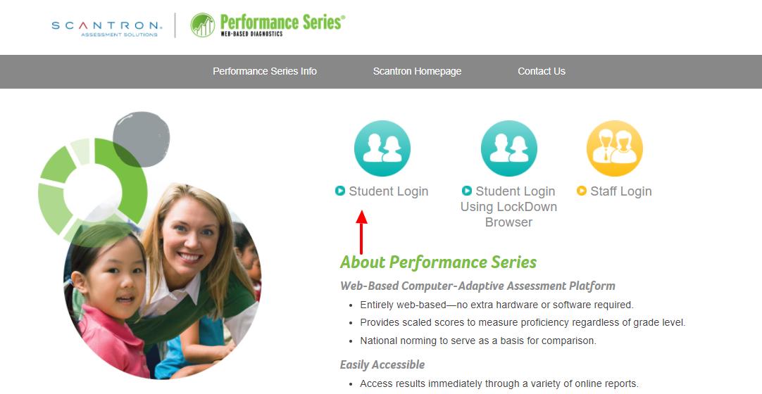 performance student login