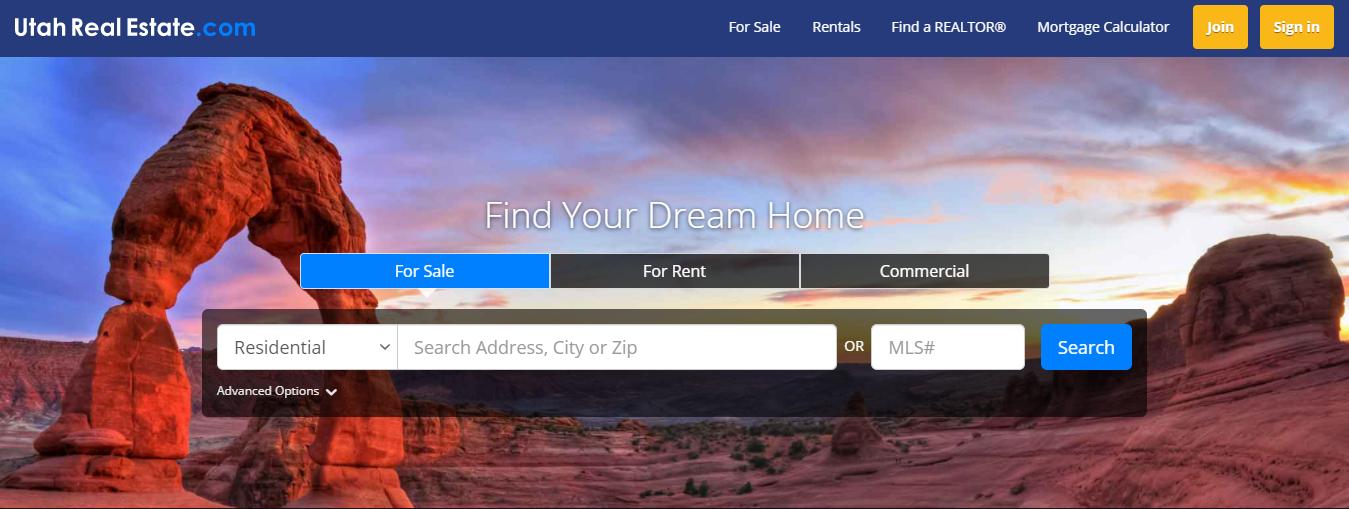 utah real estate login
