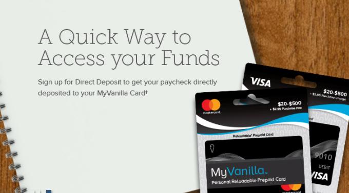 MyVanilla Card Logo