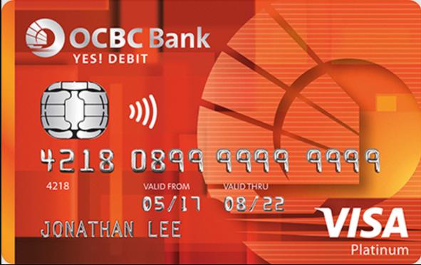 ocbc bank debit card logo